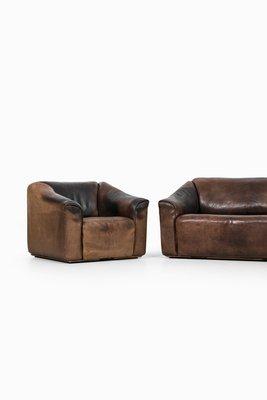 2 Sitzer Sofa Und Ds 47 Sessel Von De Sede 2er Set