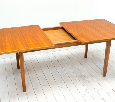 Walnut Extendable Dining Table By W H