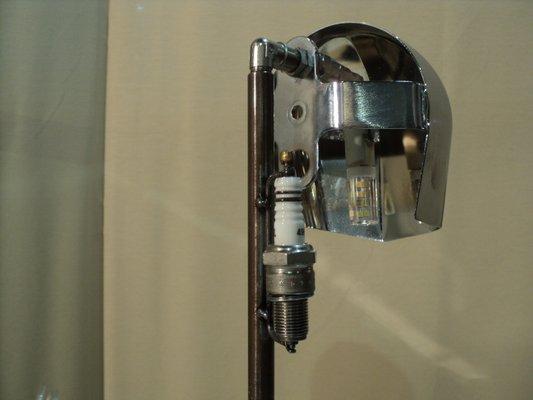 Lámpara de mesa vintage de Harley Davidson en venta en Pamono