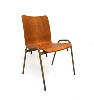Excellent Danish Bentwood And Metal Dining Chair 1960S Machost Co Dining Chair Design Ideas Machostcouk