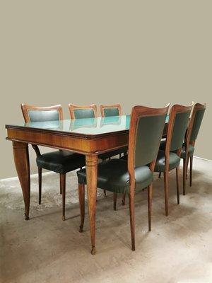 Tavoli E Sedie Vintage.Tavolo Da Pranzo Vintage E Sedie Di Paolo Buffa Italia Anni 40