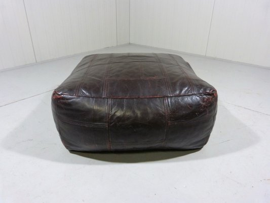 Outstanding Dark Brown Leather Ottoman From De Sede 1970S Ncnpc Chair Design For Home Ncnpcorg