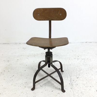 Pleasant French Model 204 Desk Chair From Bienaise 1950S Forskolin Free Trial Chair Design Images Forskolin Free Trialorg