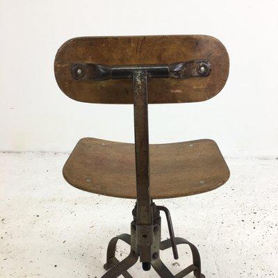 Terrific French Model 204 Desk Chair From Bienaise 1950S Forskolin Free Trial Chair Design Images Forskolin Free Trialorg