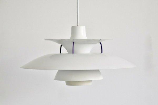 PH5 Pendant Lamp by Poul Henningsen for Louis Poulsen, 1980s
