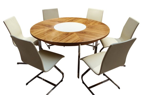 Vintage Rosewood Dining Table Chairs Set By Richard Young For Merrow Associates 1960s Set Of 7 For Sale At Pamono