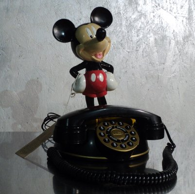 Vintage Mickey Mouse Telephone From