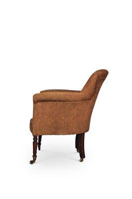 Peachy Antique Georgian Salon Club Chair 1780S Dailytribune Chair Design For Home Dailytribuneorg