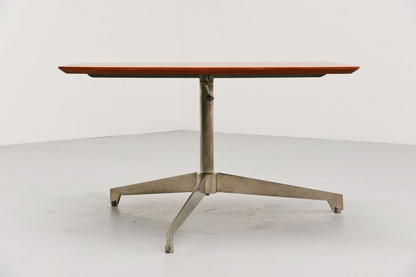 Italian Adjustable Coffee Table By Osvaldo Borsani For Tecno