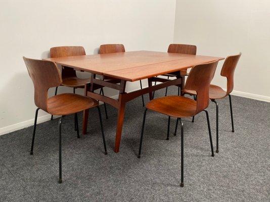Danish Extendable Dining Table by Kai Kristiansen, 1960s