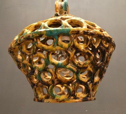 Lampade In Ceramica Di Vietri.Lampada In Ceramica Di Vietri Italia Anni 60 In Vendita Su Pamono