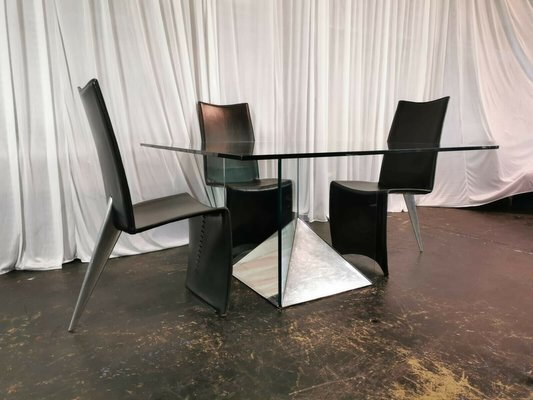Living Room Bedroom Combo Ideas, Dining Chairs By Philippe Starck For Aleph 1980s Set Of 6 For Sale At Pamono