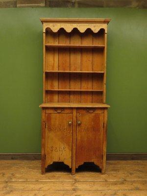 Antique Victorian Pine Kitchen Dresser