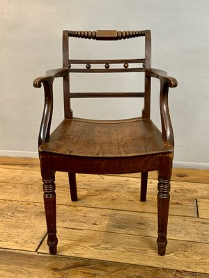 Antique English Carver Chair For