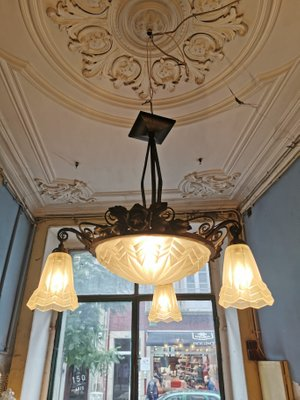 Antique Ceiling Lamp For Sale At Pamono