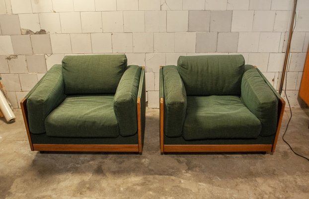 Italian Sofa and Chairs Set by Tobia & Afra Scarpa for Cassina, 1966