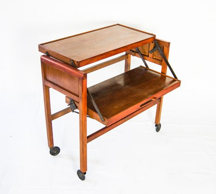 Rosewood Trolley From Tri Magic 1960s