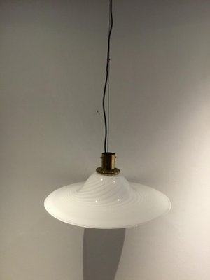 Italian Gl Pendant Lamp 1960s For