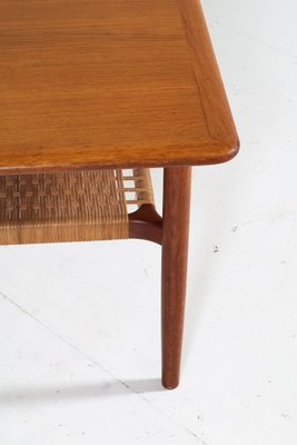 Teak Coffee Table By Gunnar Schwartz 1960s For Sale At Pamono