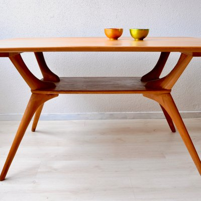 Wooden Dining Table 1950s For Sale At Pamono