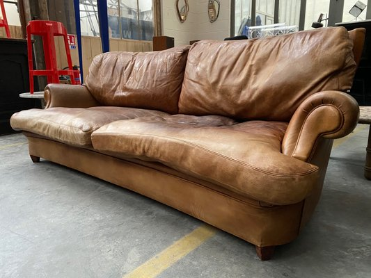 Leather Sofa 1970s For At Pamono