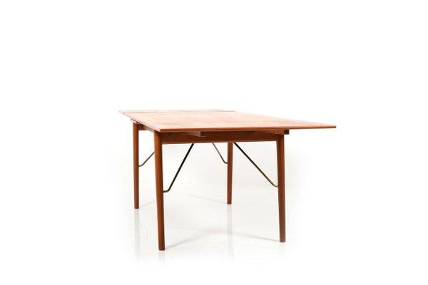Tavoli Da Cucina Allungabili Classici.Tavolo Da Pranzo Mid Century Allungabile In Teak Di Peter Hvidt