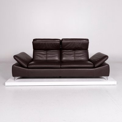 Vintage Leather Sofa Armchair And