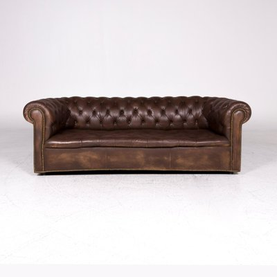 Brown Leather Sofas From Chesterfield