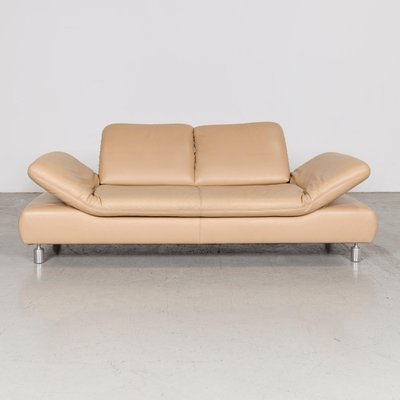 Vintage Leather 3 Seat Sofa From Koinor
