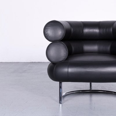 Vintage Leather Armchair By Eileen Gray