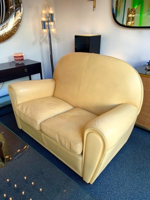 Italian Leather Sofas From Poltrona