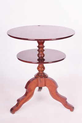 Mahogany Round Coffee Table 1880s