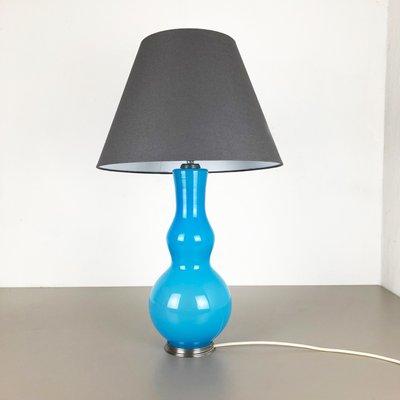 Mid Century Italian Opaline Murano, Table Lamps India Jane