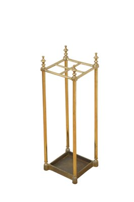 Antique Victorian Br Umbrella Stand