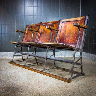 Sedie Da Cinema Vintage.Sedie Da Cinema Vintage Francia Anni 20 In Vendita Su Pamono