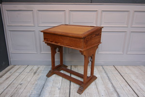 Antique Childrens School Desk For