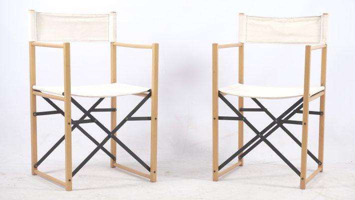 Sedie Pieghevoli Di Design.Sedie Pieghevoli Mid Century Germania Set Di 4 In Vendita Su Pamono