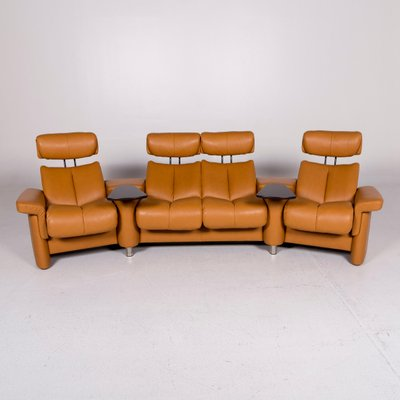 Leather 4 Seater Corner Sofa