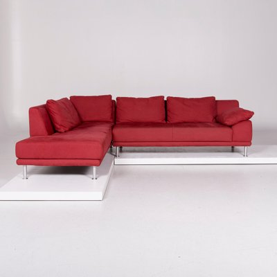Vintage Red Corner Sofa From Koinor For