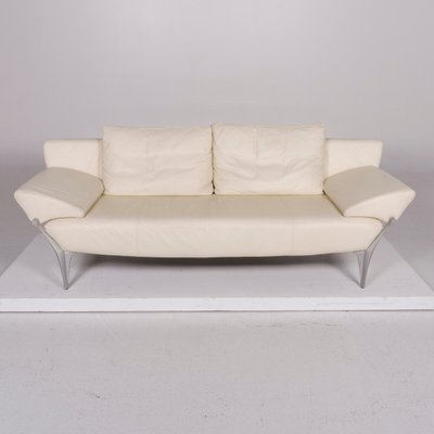 Cream Leather Sofas From Rolf Benz