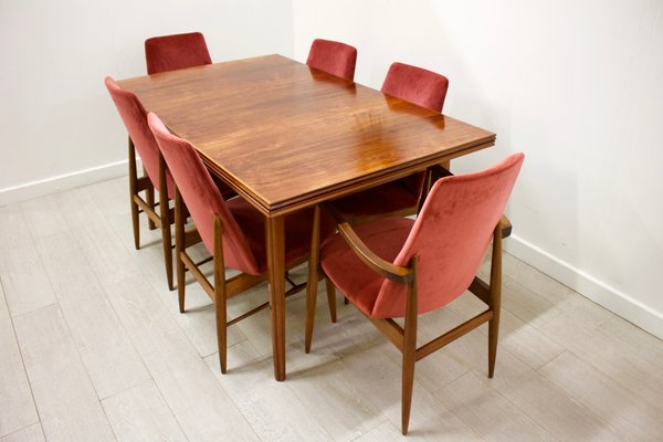 Extendable Dining Table And Chairs Set