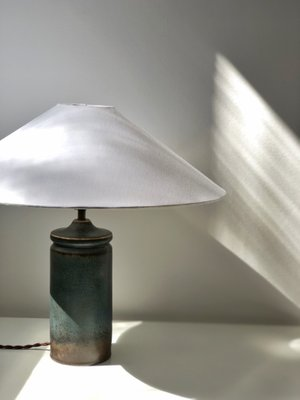 Stoneware Table Lamp by Carl Harry Stålhane for Rörstrand, 1960s