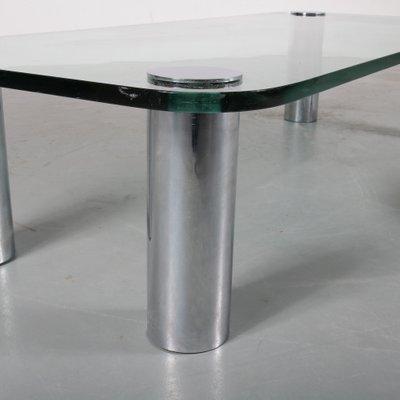 Tavolino da caffè Marcuso di Marco Zanuso per Zanotta, Italia, anni '70