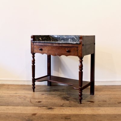 Marble Top Console Table 1920s For