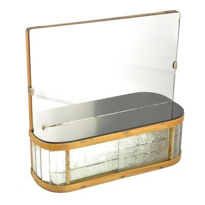 Vendita Specchi Da Bagno.Specchio Da Bagno Art Deco Di Kombinat Decin Anni 50 In Vendita