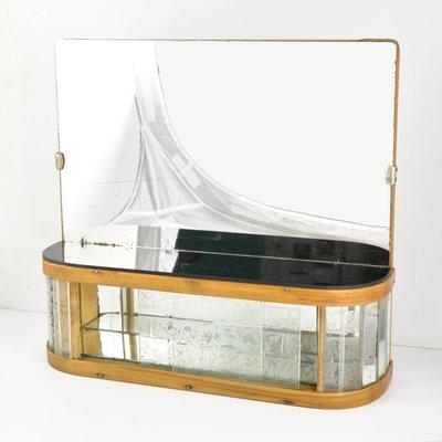 Art Deco Bathroom Mirror From Kombinat