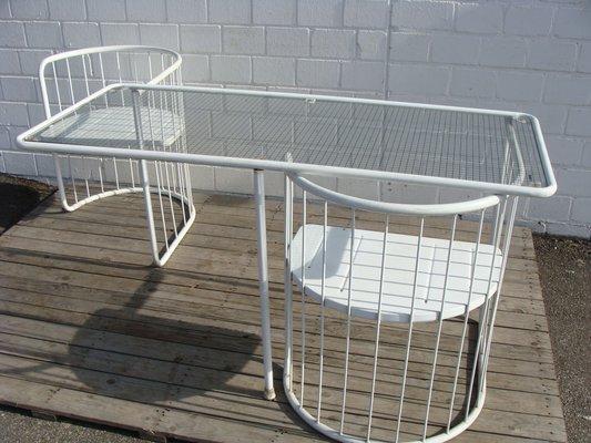 Tavoli Da Giardino Emu.Tavolo Da Giardino Pieghevole Vintage Con Sedie Di Emu In Vendita