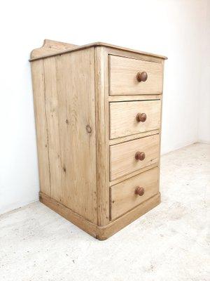 Antique Pine Wood Dresser For At
