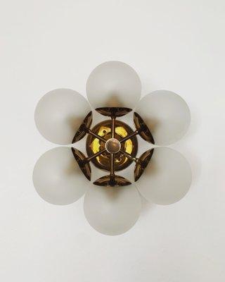 Sputnik Deckenlampe von Kaiser Idell Kaiser Leuchten, 1960er