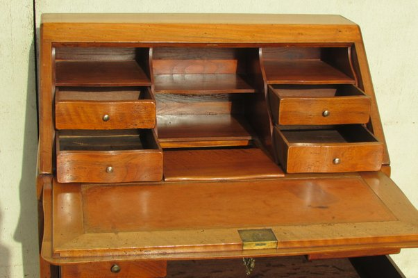 Large Antique Cherry Desk For At